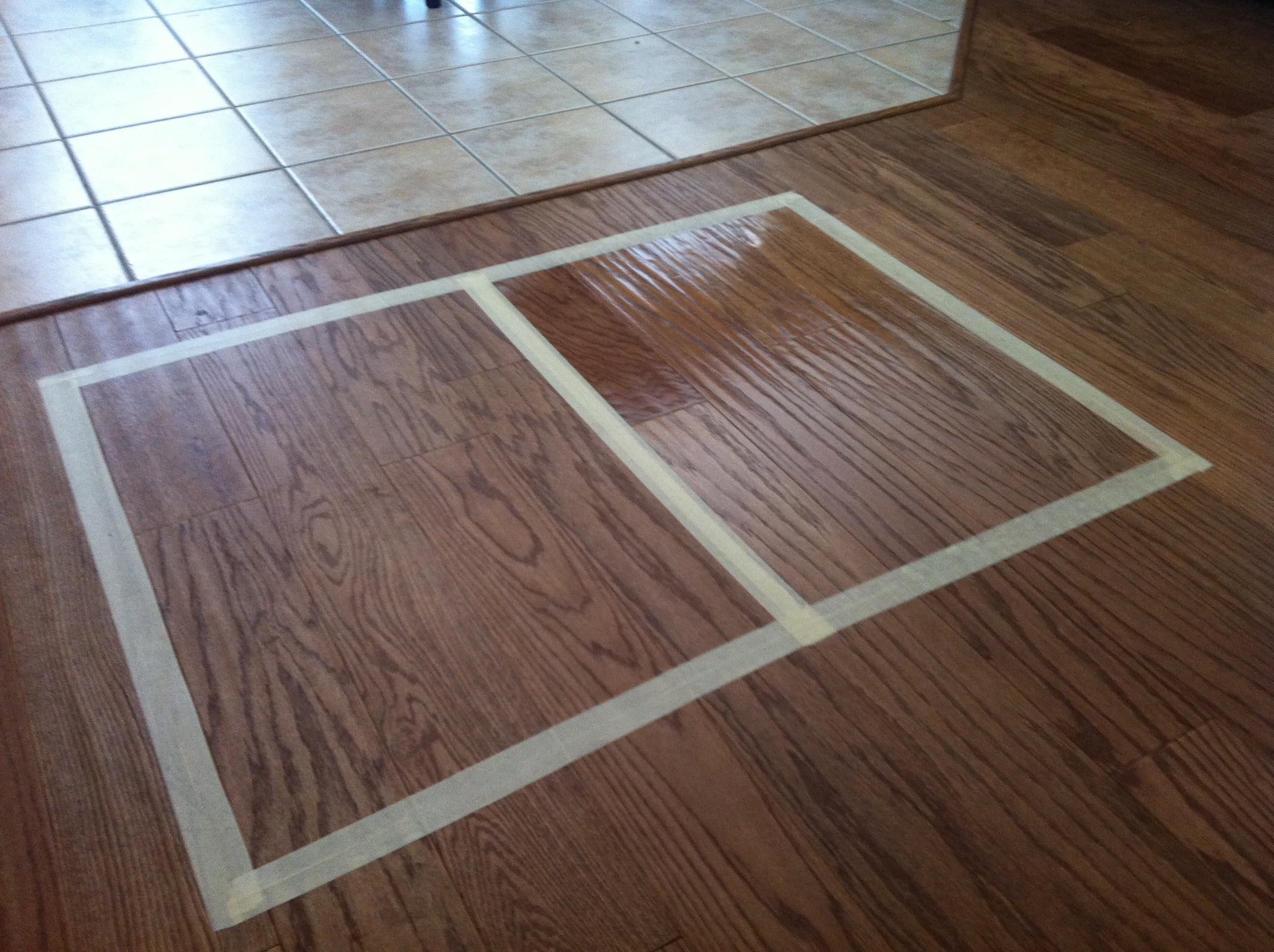 Hardwood Floors Clean Amp Rejuvenate Before Amp After
