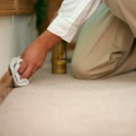 Hand Baseboard Cleaning