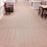 Retirement Center Carpet Cleaning Job